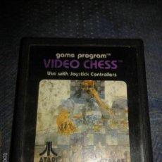 Videojuegos y Consolas: JUEGO,CARTUCHO ATARI 2600,VIDEO CHESS. Lote 56107268