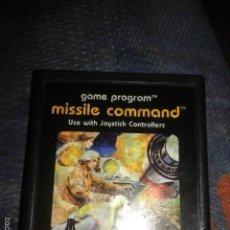 Videojogos e Consolas: JUEGO,CARTUCHO,ATARI 2600, MISSILE COMMAND. Lote 190005013