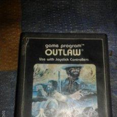 Videojuegos y Consolas: JUEGO,CARTUCHO ATARI 2600,OUTLAW. Lote 56109652