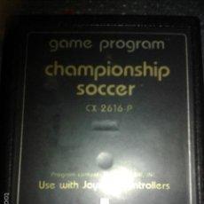 Videojuegos y Consolas: JUEGO,CARTUCHO ATARI 2600,CHAMPIONSHIP SOCCER. Lote 56109734