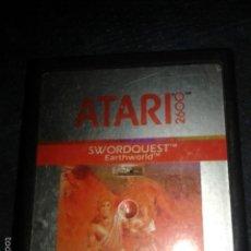 Videojuegos y Consolas: JUEGO,CARTUCHO ATARI 2600,SWORDQUEST . Lote 56109875