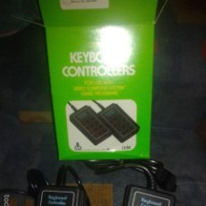 Videojuegos y Consolas: 2X KEYBOARD CONTROLLERS,2 MANDOS RAROS ATARI,ATARI 2600. Lote 56678770