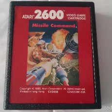 Videojuegos y Consolas: CARTUCHO ORIGINAL JUEGO MISSILE COMMAND ATARI 2600 PAL.. Lote 57168458