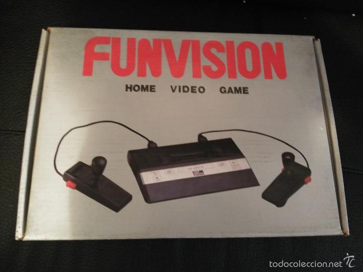 CONSOLA FUNVISION CLONICA ATARI 2600 NUEVA A ESTRENAR (Juguetes - Videojuegos y Consolas - Atari)