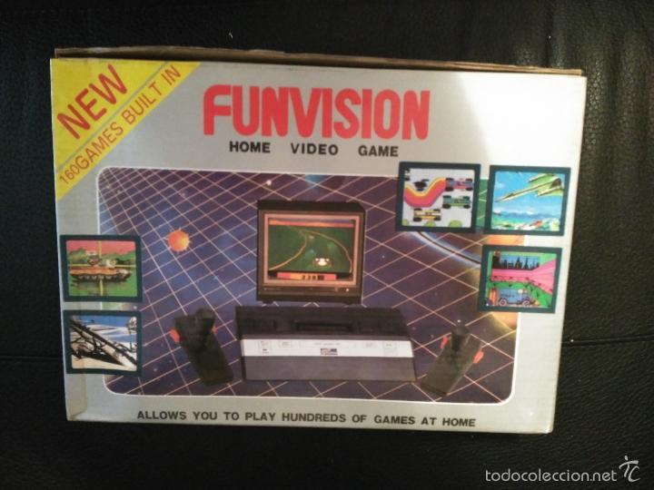 Videojuegos y Consolas: CONSOLA FUNVISION CLONICA ATARI 2600 NUEVA A ESTRENAR - Foto 2 - 57207135
