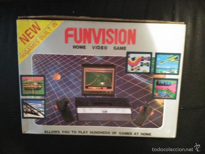 Videojuegos y Consolas: CONSOLA FUNVISION CLONICA ATARI 2600 NUEVA A ESTRENAR - Foto 3 - 57207135