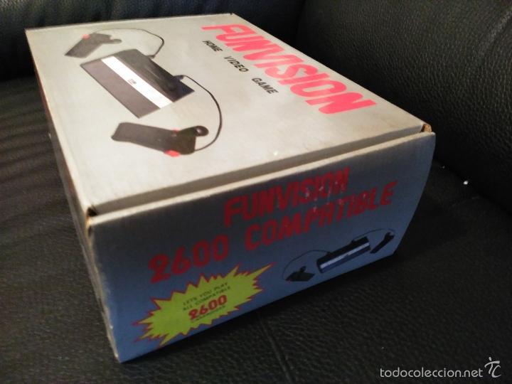 Videojuegos y Consolas: CONSOLA FUNVISION CLONICA ATARI 2600 NUEVA A ESTRENAR - Foto 4 - 57207135