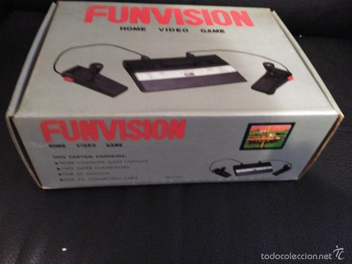Videojuegos y Consolas: CONSOLA FUNVISION CLONICA ATARI 2600 NUEVA A ESTRENAR - Foto 6 - 57207135
