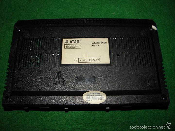 Videojuegos y Consolas: CONSOLA ATARI 2600 - Foto 4 - 58181710