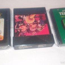 Videojuegos y Consolas: WARLORDS - TENNIS - CLONICO CON 8 JUEGOS - LOTE ATARI. Lote 58353494