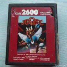 Videojuegos y Consolas: JUEGO ATARI200--JOUST. Lote 58663017