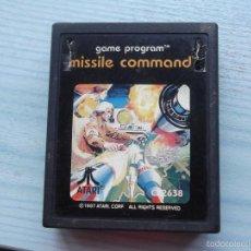 Videojuegos y Consolas: JUEGO ATARI 2.600.MISSILE COMMAND. Lote 58663052