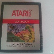 Videojuegos y Consolas: JUEGO CENTIPEDE CARTUCHO ORIGINAL ATARI 2600 PAL.. Lote 59992179