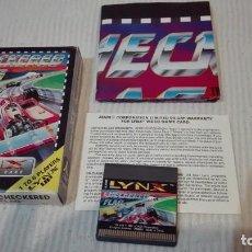 Videojuegos y Consolas: JUEGO ATARI LYNX CHECKERED FLAG ** EXCELENTE **. Lote 61556064