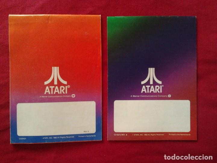 Videojuegos y Consolas: 2 CATÁLOGOS DE JUEGOS ATARI OFICIAL MUY BUEN ESTADO VIDEOJUEGOS PROMOCIONAL ORIGINAL (1982, WARNER) - Foto 2 - 62112504