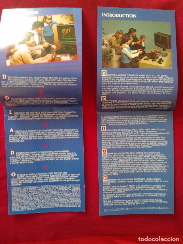 Videojuegos y Consolas: 2 CATÁLOGOS DE JUEGOS ATARI OFICIAL MUY BUEN ESTADO VIDEOJUEGOS PROMOCIONAL ORIGINAL (1982, WARNER) - Foto 3 - 62112504