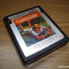 Videojuegos y Consolas: JUNGLE HUNT - ATARI 2600 - JUEGO EN CARTUCHO ORIGINAL. Lote 67908941
