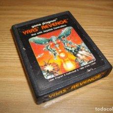 Videojuegos y Consolas: YAR'S REVENGE - ATARI 2600 - JUEGO EN CARTUCHO ORIGINAL. Lote 67909109