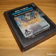 Videojuegos y Consolas: BRAIN GAMES - ATARI 2600 - JUEGO EN CARTUCHO ORIGINAL. Lote 67911185