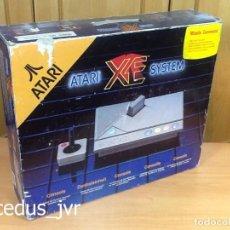 Videojuegos y Consolas: LOTE CONSOLA ATARI XE SYSTEM COMPLETA + JUEGOS PAC-MAN Y MISSILE COMMAND EN BUEN ESTADO. Lote 207730811