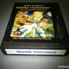 Videojuegos y Consolas: 918- MISSILE COMMAND - GAME - ATARI -CX 2638 -1981. Lote 69613461