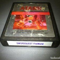 Videojuegos y Consolas: 918- SWORDQUEST FIREWORLD - GAME - ATARI -CX 2657 -1982. Lote 69613613