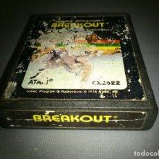 Videojuegos y Consolas: 918- BREAKOUT- GAME- ATARI- REF CX 2622/ 1978. Lote 69825605