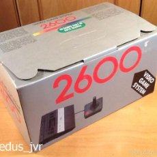 Videojuegos y Consolas: CONSOLA ATARI 2600 CLÓNICA PAL COMPLETA CON CAJA E INSTRUCCIONES NUEVA A ESTRENAR + JUEGOS. Lote 203789353