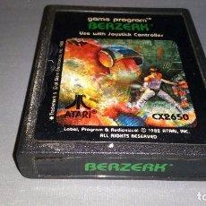 Videojuegos y Consolas: 918- BERZERK - GAME- ATARI REF CX 2650 -ATARI (1982) Nº2. Lote 70371521