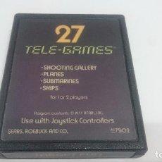 Jeux Vidéo et Consoles: JUEGO CARTUCHO TELE GAMES 27 ATARI 2600 VCS VIDEOGAME CART JEU SPIEL. Lote 73542215