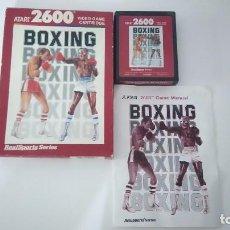 Videojuegos y Consolas: JUEGO BOXING ATARI 2600. Lote 74356579