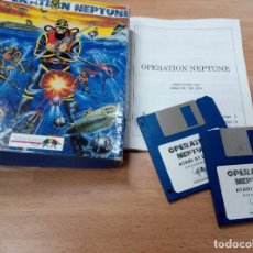 Videojuegos y Consolas: OPERATION NEPTUNE ATARI ST - INFOGRAMES. Lote 75481623
