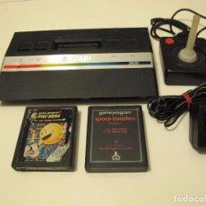 Videojuegos y Consolas: PACK :ATARI 2600 JR RAINBOW CONSOLE VG+. Lote 80384649