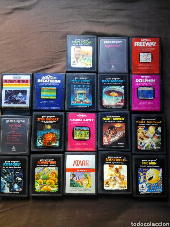 Lote 18 Juegos De Atari Comprar Videojuegos Y Consolas Atari En