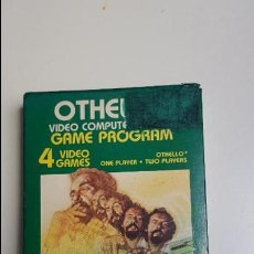 Videojuegos y Consolas: OTHELLO VIDEO COMPUTER GAME PROGRAM - ATARI (1981). Lote 84594376