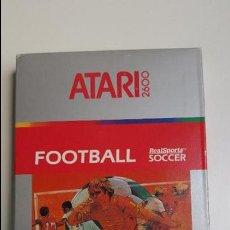Videojuegos y Consolas: FOOTBALL (REALSPORTS SOCCER) ATARI 2600 (1987). Lote 84594604