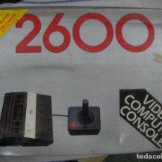 Videojuegos y Consolas: ANTIGUA CONSOLA VIDEO GAME SYSTEM 2600 NUEVA 128 JUEGOS. Lote 86710836