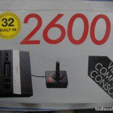 Videojuegos y Consolas: ANTIGUA CONSOLA VIDEO GAME SYSTEM 2600 NUEVA 32 JUEGOS. Lote 86710980