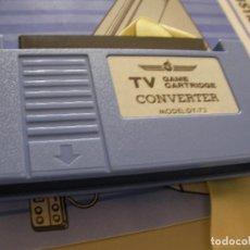 Videojuegos y Consolas: ANTIGUO CARTUCHO DE JUEGOS CONVERTIDOR DE TV PARA CONSOLAS TIPO ATARI O SIMILAR. Lote 86711684