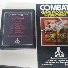 Videojuegos y Consolas: JUEGO PARA ATARI 2600 COMBAT. Lote 87536384