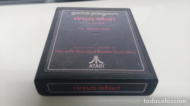 JUEGO PARA ATARI 2600 CIRCUS ATARI (Juguetes - Videojuegos y Consolas - Atari)