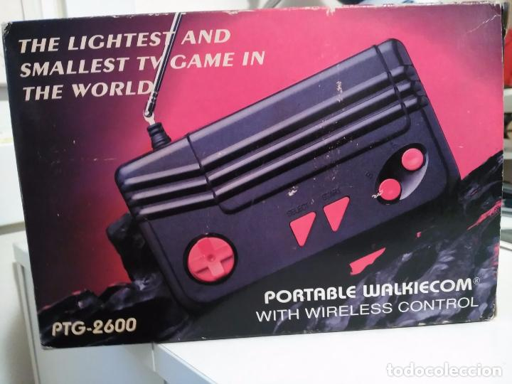 Videojuegos y Consolas: Consola clon atari ptg-2600 portable walkiecom nueva a estrenar con mando inalámbrico rarisima leer - Foto 3 - 88825812