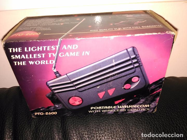 Videojuegos y Consolas: Consola clon atari ptg-2600 portable walkiecom nueva a estrenar con mando inalámbrico rarisima leer - Foto 4 - 88825812