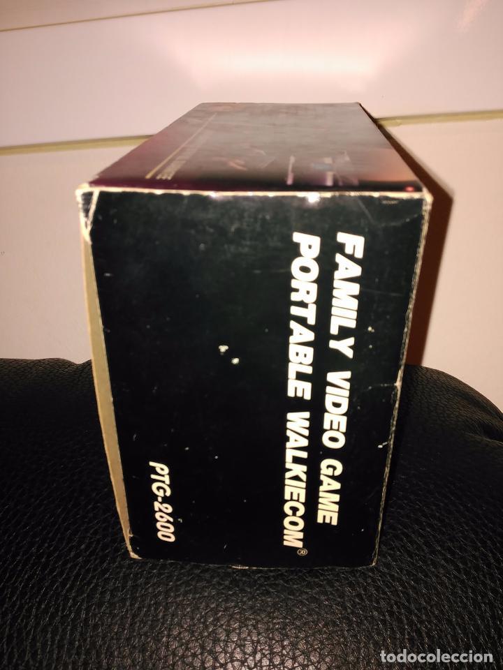 Videojuegos y Consolas: Consola clon atari ptg-2600 portable walkiecom nueva a estrenar con mando inalámbrico rarisima leer - Foto 5 - 88825812