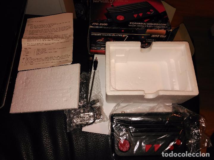 Videojuegos y Consolas: Consola clon atari ptg-2600 portable walkiecom nueva a estrenar con mando inalámbrico rarisima leer - Foto 8 - 88825812