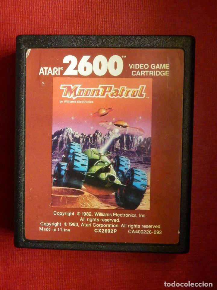 JUEGO CONSOLA - ATARI 2600 - MOON PATROL - 1982 - WILLIAMS ELECTRONICS. - (Juguetes - Videojuegos y Consolas - Atari)