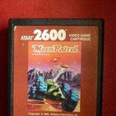 Videojuegos y Consolas: JUEGO CONSOLA - ATARI 2600 - MOON PATROL - 1982 - WILLIAMS ELECTRONICS. -. Lote 88934440