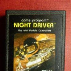 Videogiochi e Consoli: JUEGO CONSOLA - ATARI - NIGTH DRIVER - 1982 - CX2638 - 1978 -. Lote 88934692
