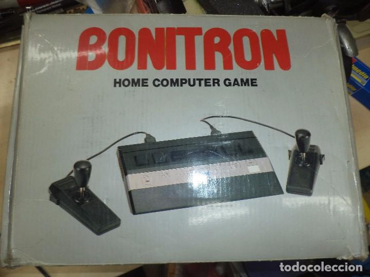 CONSOLA BONITRON.HOME COMPUTER GAME.COMPATIBLE ATARI 2600.AÑOS 80. (Juguetes - Videojuegos y Consolas - Atari)