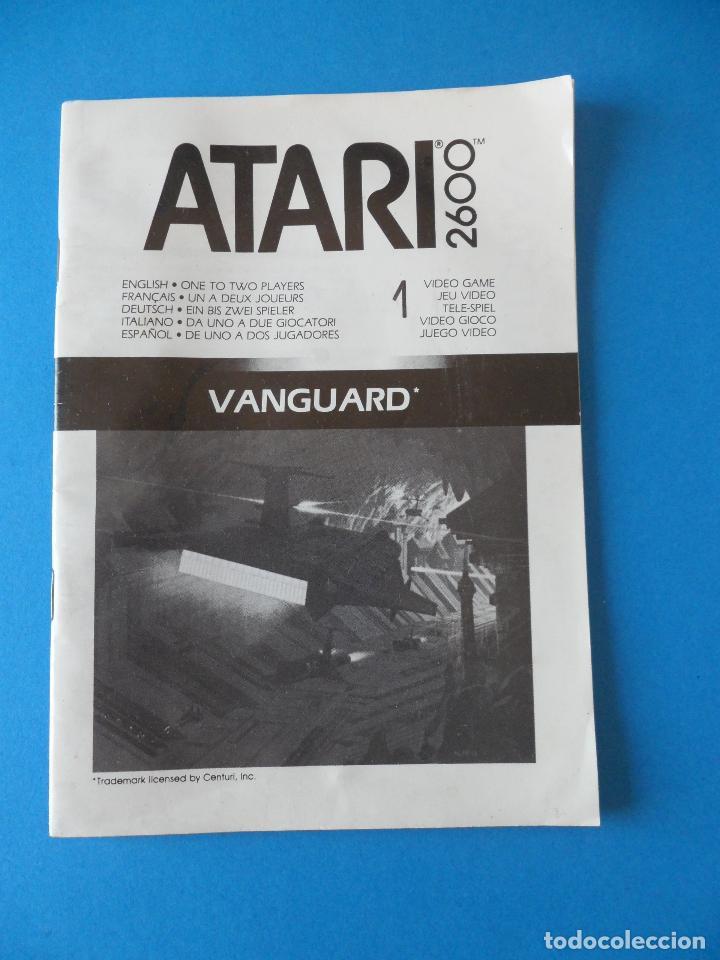 LIBRITO MANUAL DEL VIDEOJUEGO VANGUARD - ATARI 2600 (Juguetes - Videojuegos y Consolas - Atari)